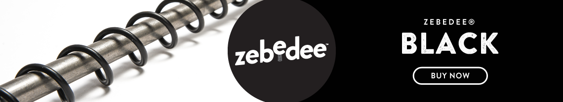 Zebedee Carbon Black Hanging Rail