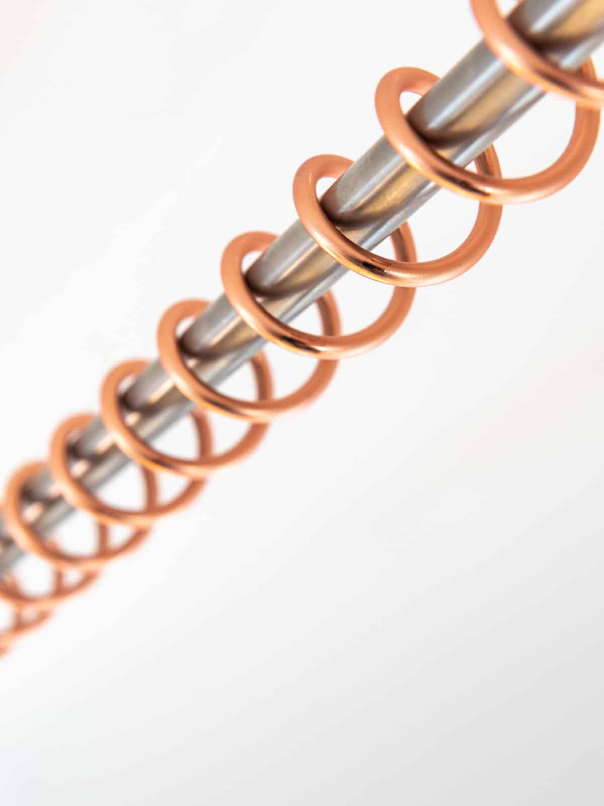 Zebedee Any Angle Hanging Rail - Rose Copper - Product image